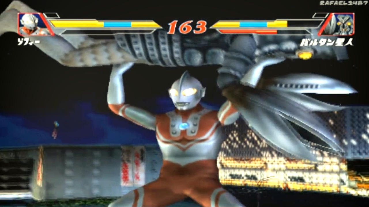 Ultraman Fighting Evolution 2 Zoffy Vs Alien Baltan Hd
