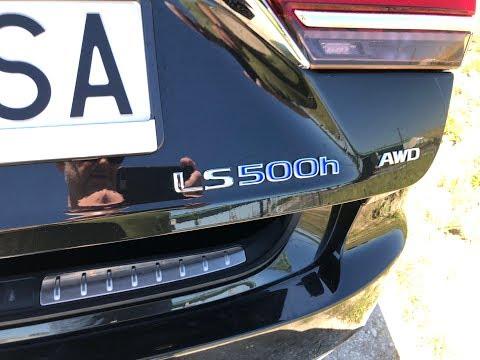 Lexus LS 500h Test W Polsce Pertyn Ględzi