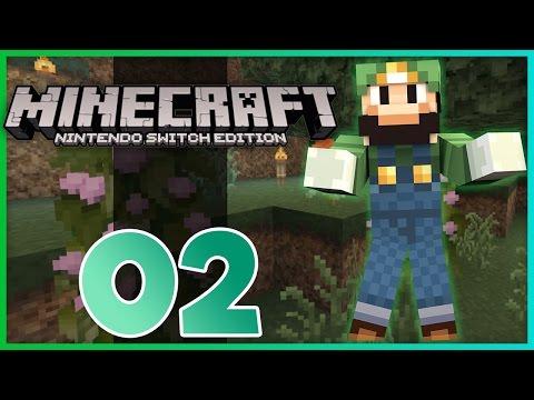 Minecraft Nintendo Switch - Ep 2 - Skeletons Attack! (Minecraft Nintendo Switch Gameplay)