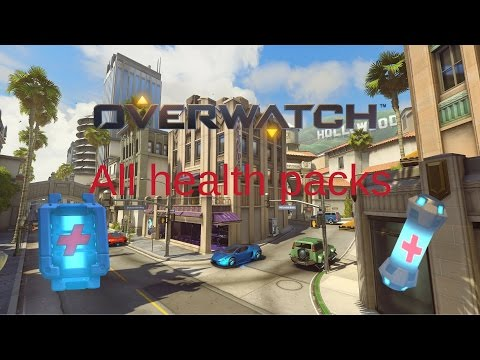 All of the health packs in Hollywood