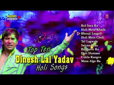 Dinesh Lal Yadav [ Holi Audio Songs Jukebox ]