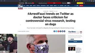 #ArrestFauci Trends After Images Emerge of BRUTAL Dog Experimentation Funded By Fauci