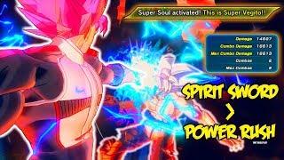 OVERPOWERED Spirit Sword Build! | Dragon Ball Xenoverse 2