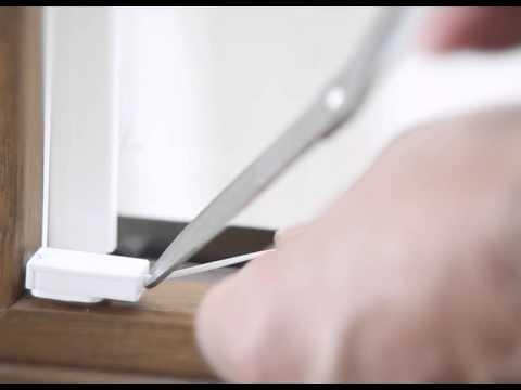 Jalousien Und Plissee Montieren Ohne Bohren Klebeset Von Mhz Youtube