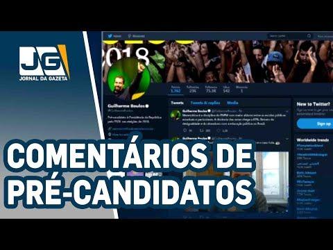Pré-candidatos comentam ordem para soltar Lula