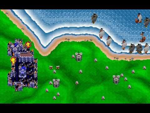 Rampart (PC DOS) longplay