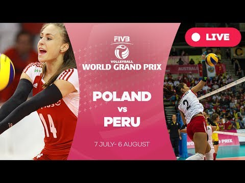 Poland v Peru - Group 2: 2017 FIVB Volleyball World Grand Pr