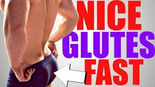 3 Exercises to get a NICE Muscular Butt FAST