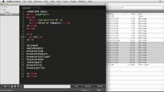 Learn to create code quickly with Emmet & Sublime Text 2