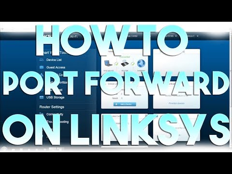 How to Port Forward/Open Ports on Linksys Smart Wi-Fi - YouTube