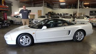 Here's Why the Original Acura NSX Is Shooting Up in Value