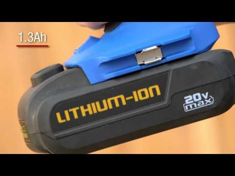 The Mastercraft 20-volt Lithium-Ion Cordless Impact Wrench From Canadian Tire