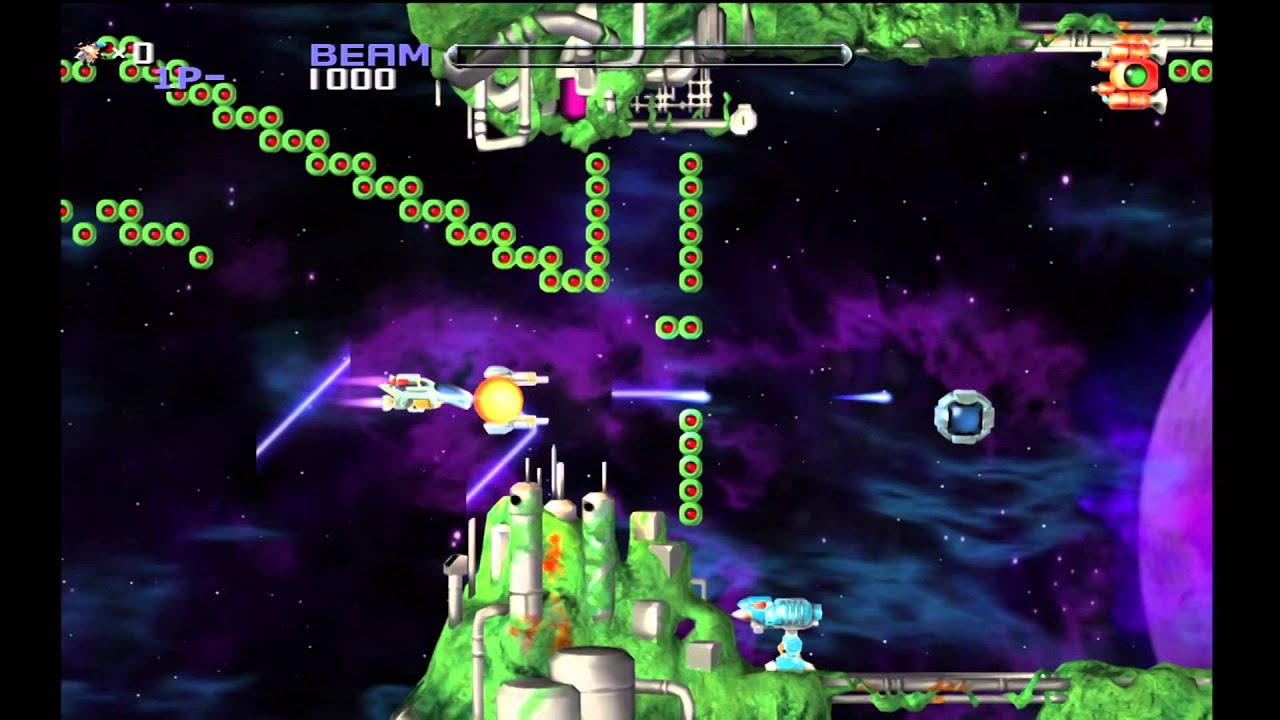 PS3 Game: R-Type Dimensions P1 - YouTube