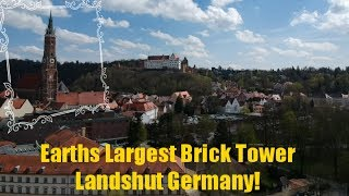 Landshut Germany Has The Tallest Brick Building In The World!