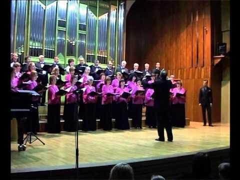 """Corul """"Nicolae Oancea"""" - """"Doamne, Auzi Glasul Meu"""" de N. LUNGU - Solist: Marius OLTEANU"""