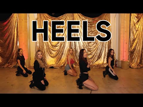 Hardcore Heels Dance Tutorial (Beginner) With Rebecca Zamolo, Rosanna Pansino & The Merrell Twins!
