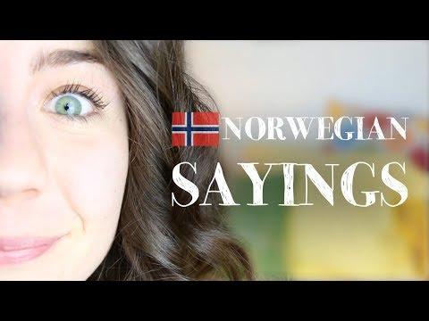 Norwegian Sayings/Ordtak | Mon Amie