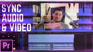 How to Record and Sync Audio & Video in Premiere Pro  | Educational