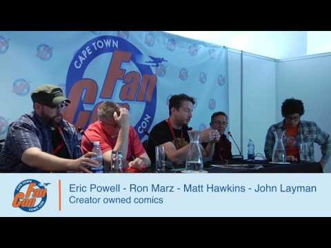 FanCon 2017 Panel - Eric Powell, Ron Marz, Matt Hawkins & John Layman - Creator Owned Comics