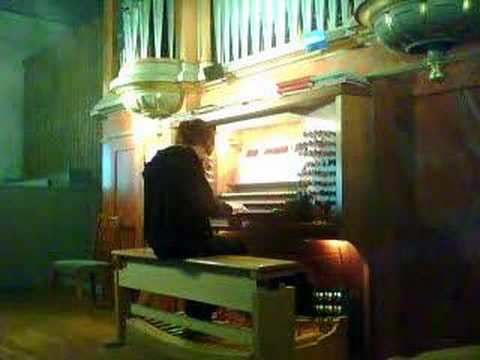 Wedding March . Swedish Organ