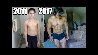 REALISTIC Body Transformation | 16-21 Years Old Skinny To Aesthetic Natural