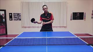 Forehand Block With Truong Tu