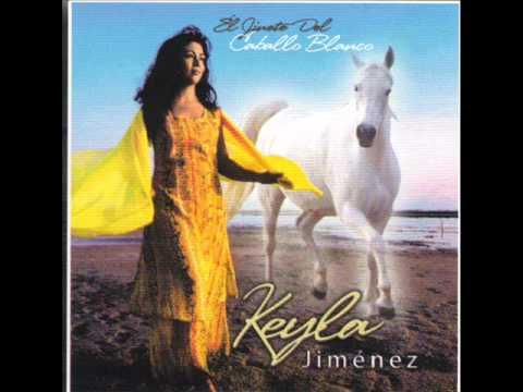 Keyla Jimenez el jinete del caballo blanco
