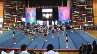 Lady Cats Final Nacional Nacion Cheer 2012