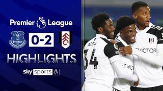 Josh Maja scores BRACE on Premier League full debut ⚡| Everton 0-2 Fulham | EPL Highlights