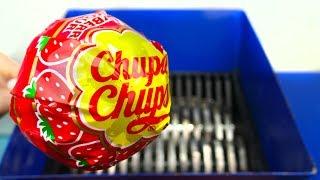 SHREDDING GIANT CHUPA CHUPS LOLLIPOP