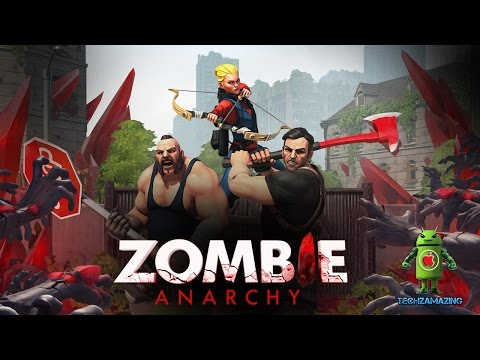 ZOMBIE ANARCHY (iOS / Android) Gameplay Trailer HD