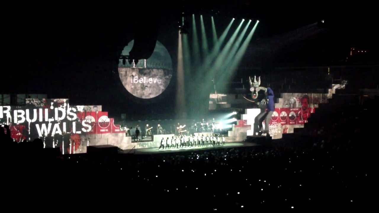 Roger Waters Pink Floyd The Wall Concert 7 10 12