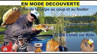 🎥 Présentation du carpodrome des étangs de condé Condé sur Risle ✪✪ ★Carpodrome de Laurielle★