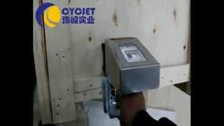 CYCJET  Wooden Case Printing_Large Character Handheld inkjet printer printing_Mobile inkjet printers Thumbnail