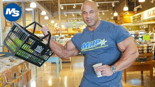 Grocery Shopping On The Road w/ Pro Bodybuilders | Victor Martinez's Bodybuilding Snacks