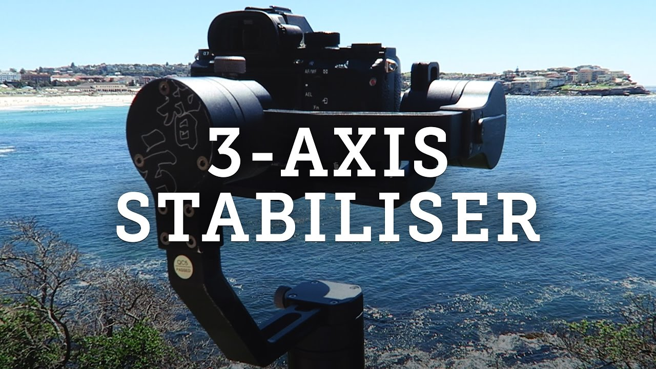 Zhiyun Crane 3-Axis Gimbal Stabiliser for Mirrorless Cameras — video thumbnail