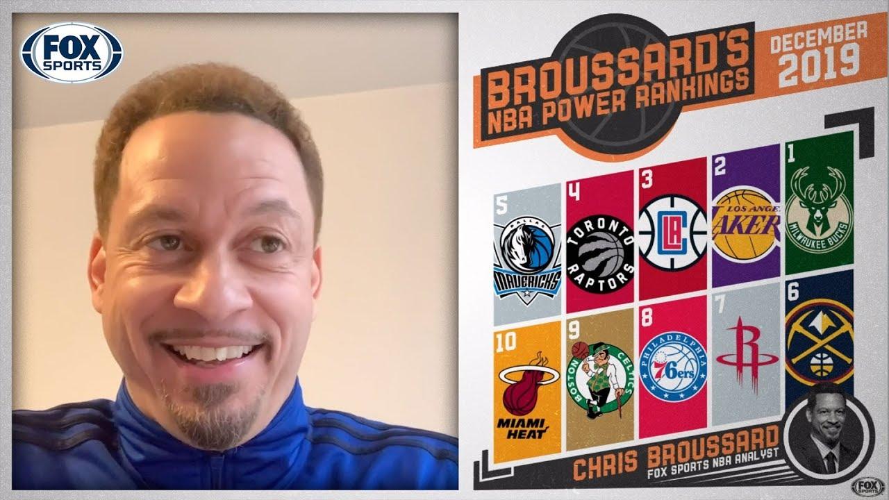 Chris Broussard S Nba Power Rankings For December Fox