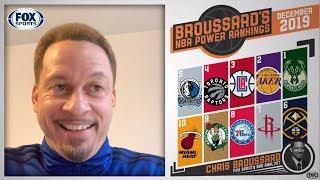 Chris Broussard's Nba Power Rankings For December   Fox Sports