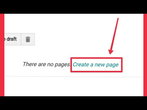 How To Create Blog Pages In Blogger
