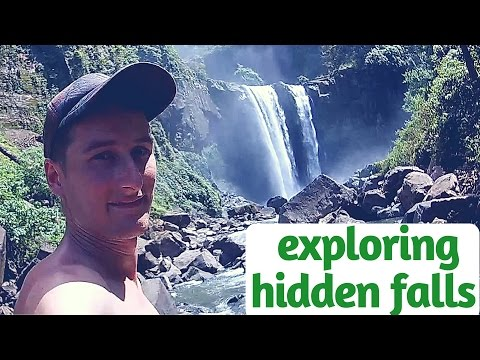 Exploring hidden falls - best spots of Baganga (Curtain Falls, Carolina Lake and Balite Hot Spring)