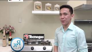 RX PLUS - SPECIALS: TECNOGAS VORTEX GAS STOVE