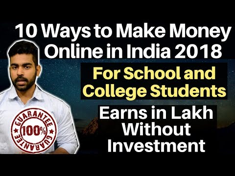 Top 10 Ways to Make Money Online | Without Investment | Stud