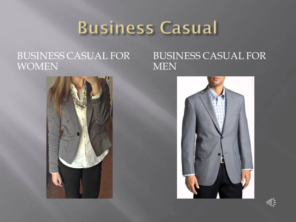 What to wear at a Business Presentation - YouTube
