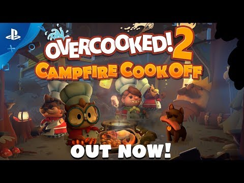 Overcooked 2: Campfire Cook Off DLC Out Now!   PS4