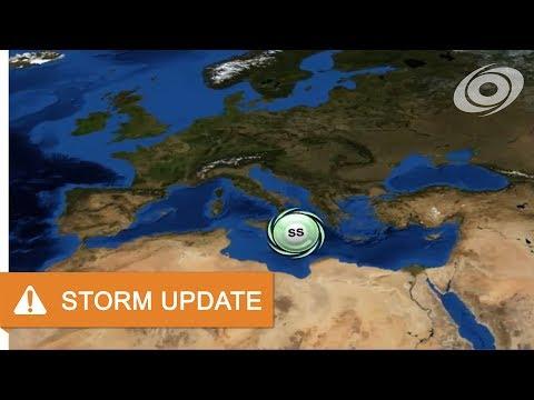 Subtropical Storm in the Mediterranean Sea - Update 1 (Nov 16, 2017)