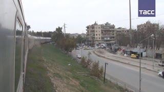 В Алеппо возобновилось движение электропоездов(В Алеппо возобновилось движение электропоездов. Министр транспорта Сирии Али Хамуд объявил о возобновлен..., 2017-01-26T12:26:55.000Z)