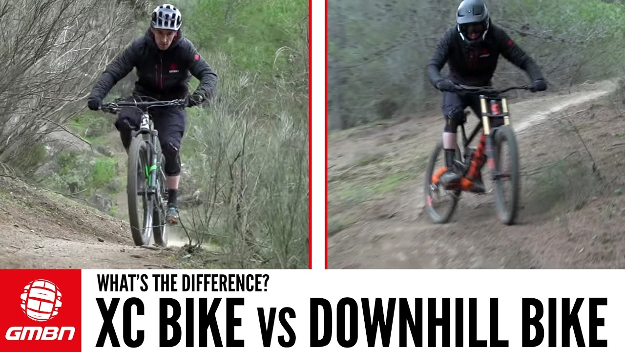 191fb0fd9ed DH Bike Vs Cross Country Mountain Bike – What Are The Differences ...
