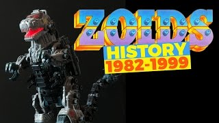 The History of Zoids Toy Line (1982-1999)