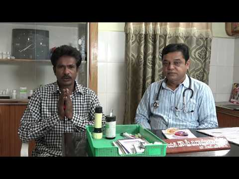 Alcohol addiction patient after treatment | Dr.Ramanaidu | Rajarams Homeo hospital