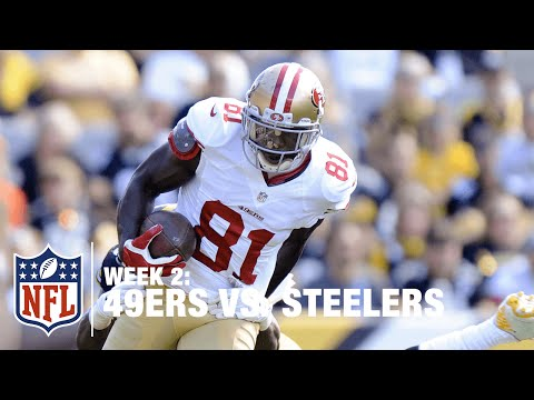 Colin Kaepernick to Anquan Boldin for 14-Yard TD Catch | 49ers vs. Steelers | NFL